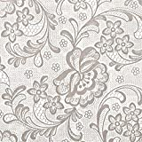 Con-Tact Brand Clear Covering Self-Adhesive Privacy Film and Liner, 18-Inches by 9-Feet, Frosty White Lace