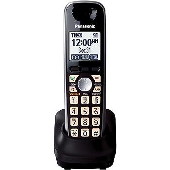 amazon com panasonic kx tga401b extra handset for kx tg4000 series rh amazon com