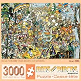 Bits and Pieces - 3000 Piece Jigsaw Puzzle for Adults - Crazy BBQ