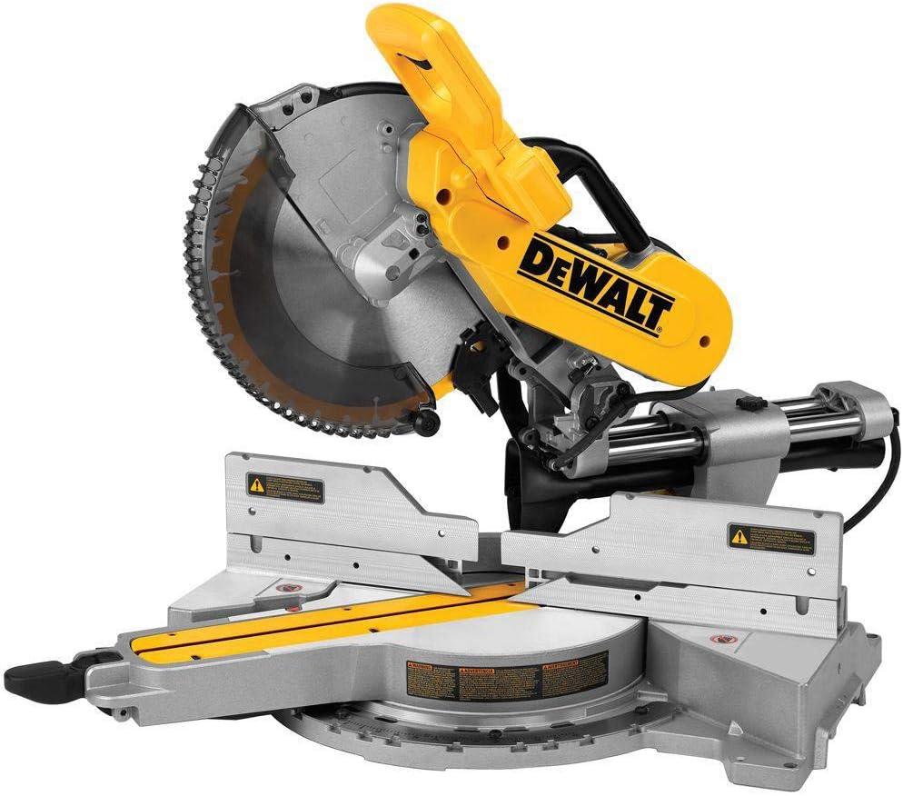Dewalt DWS779R 15 Amp 12 in. Sliding Compound Miter Saw Renewed