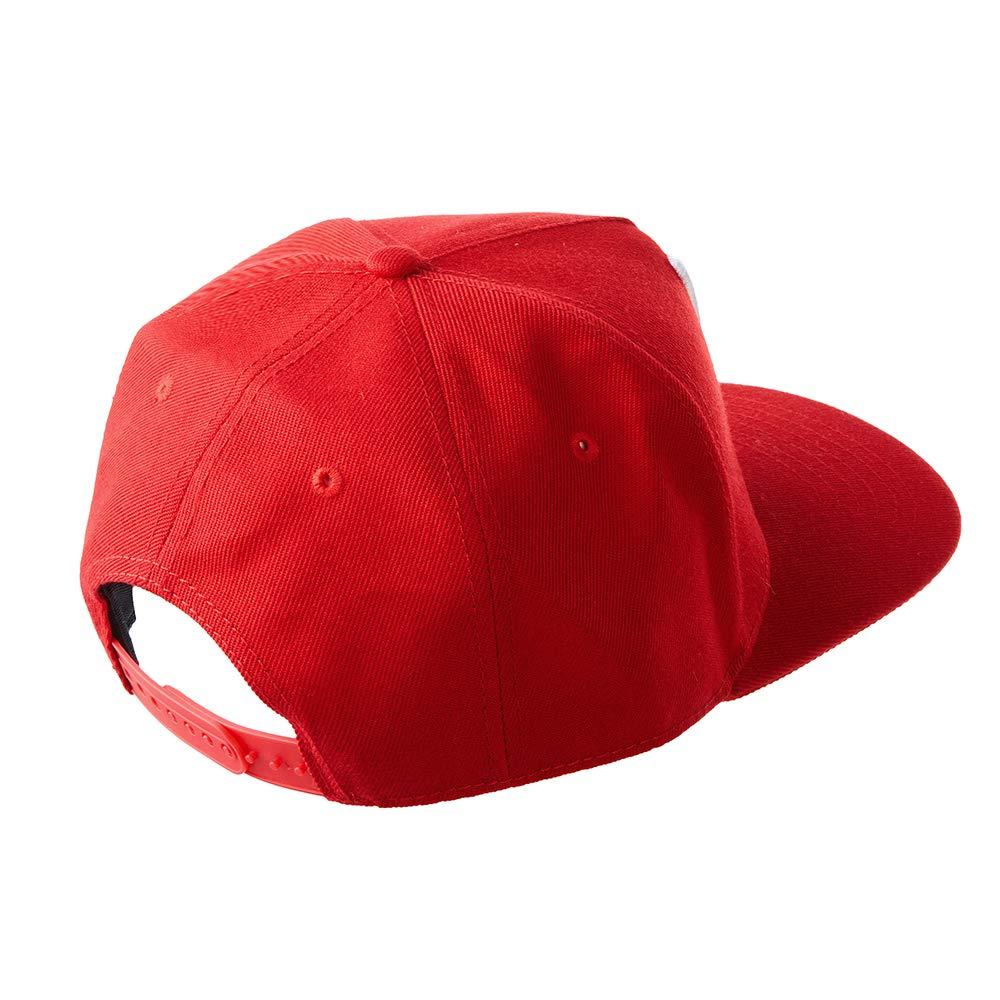 LEEYA N10 Punk Hip-Hop Baseball cap Flat-brimmed hat unisex white