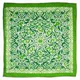 Sunshine Joy Grateful Dead Dancing Bear Mandala Bandana Green