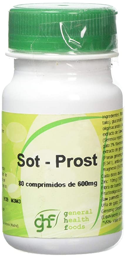 GHF Sot-Prostal, 80 Comprimidos, 600 mg