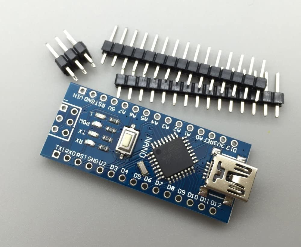 KINWAT 50PCS//LOT NANO 328P MINI USB for arduino Nano V3.0 ATmega328P CH340G 5V 16M Micro-controller board NANO 3.0