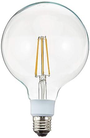 Luxtek Bombilla Globo Filamentos LED E27, 12 W