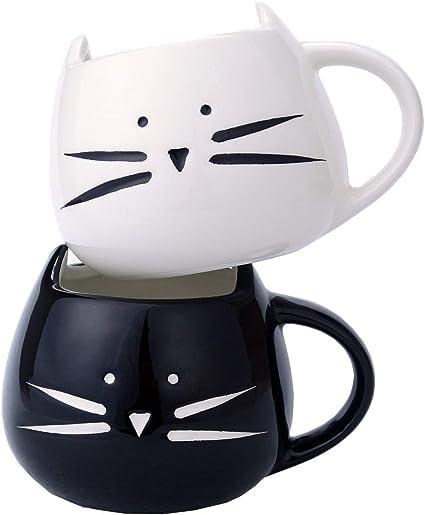 Kaffeebecher Cat lover Katze Coffee Cup 0,3 l Keramik Kaffee Tasse 27