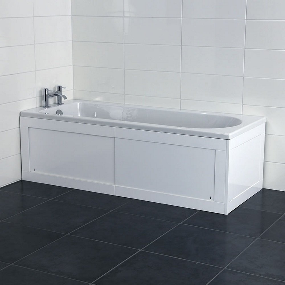 Croydex Unfold-n-Fit Height Adjustable 50-53 cm Bath Panel, 168 cm ...