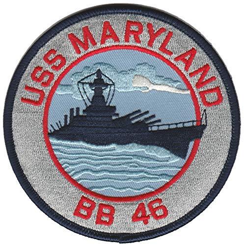 BB-46 U.S.S. Maryland USMC Patch
