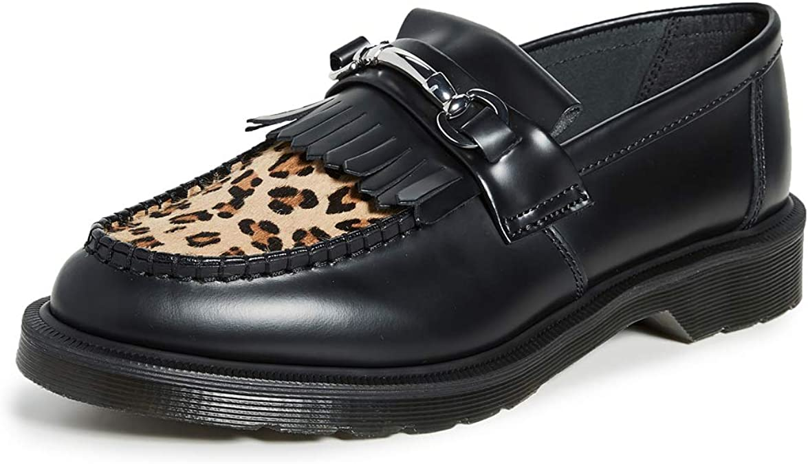 Adrian Snaffle Loafers, Black
