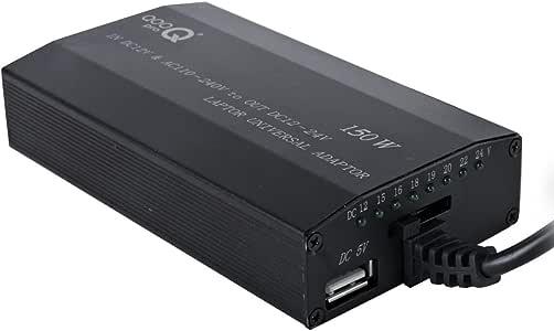 QOOPRO 15004A - Adaptador de corriente para coche y casa