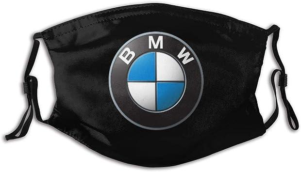 Decorazione facciale escursioni B-M-W M Sport Car Series Power Logo Bocca Sciarpa,Confortevole protezione per il naso per passeggiate 20 x 15 cm jogging