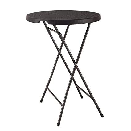 Swell Amazon Com Modern Depo Plastic Bar Height Folding Table Gamerscity Chair Design For Home Gamerscityorg
