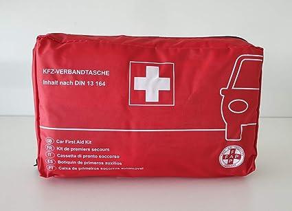 Kfz Verbandstasche Auto Verbandskasten Erste Hilfe Pkw Verbandtasche Din 13164 620148 Bürobedarf Schreibwaren
