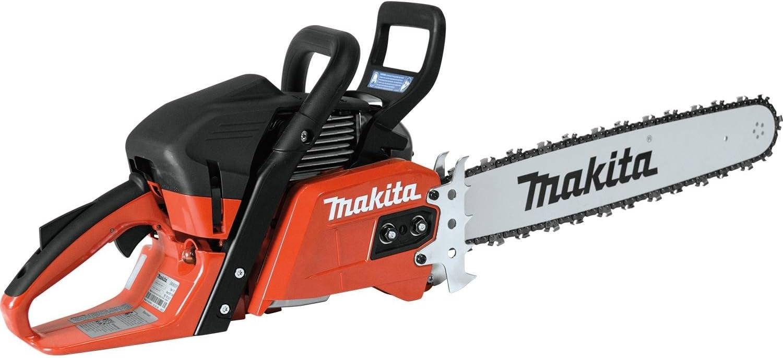 "7. Makita EA5600FREG 18"" 56 cc Ridgeline Chainsaw"