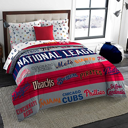 Mlb Comforter - MLB Major League Baseball Twin / Full Comforter - All Teams