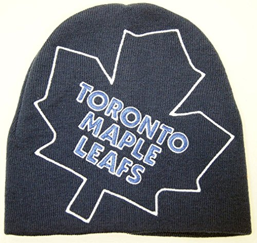 Toronto Travel Mug Leafs Maple (NHL Officially Licensed Hyper Logo Embroidered Beanie Hat Cap Lid (Toronto Maple Leafs))