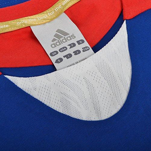 adidas Performance - Damen T-Shirt zum Laufen - Frankreich - Blau