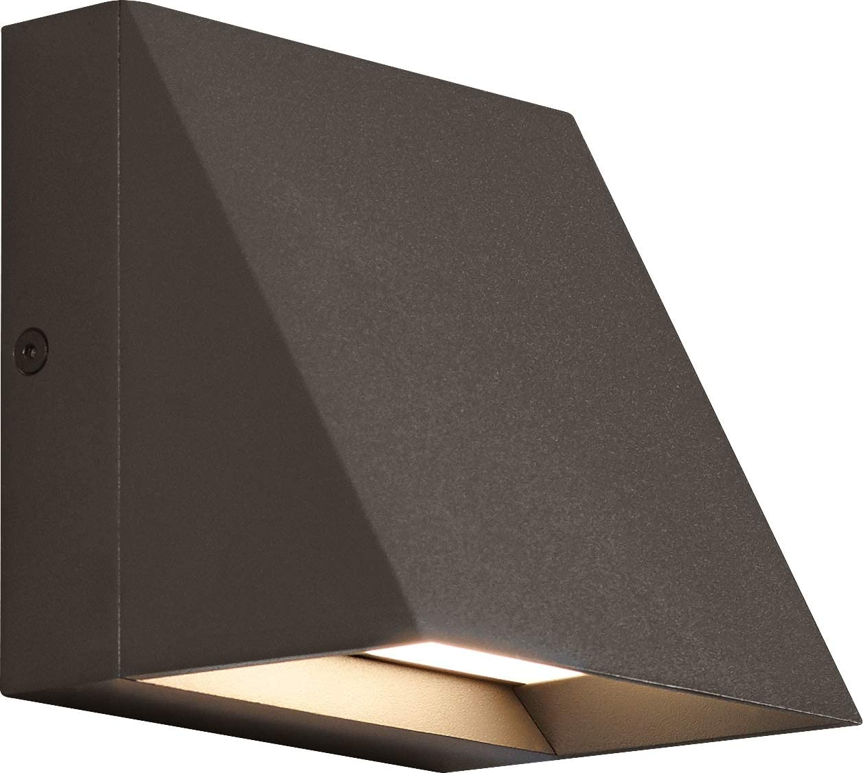 Tech Lighting 700WSPITSZ-LED830 Pitch Outdoor Wall Sconce, 1-Light LED 26 Watts, Bronze