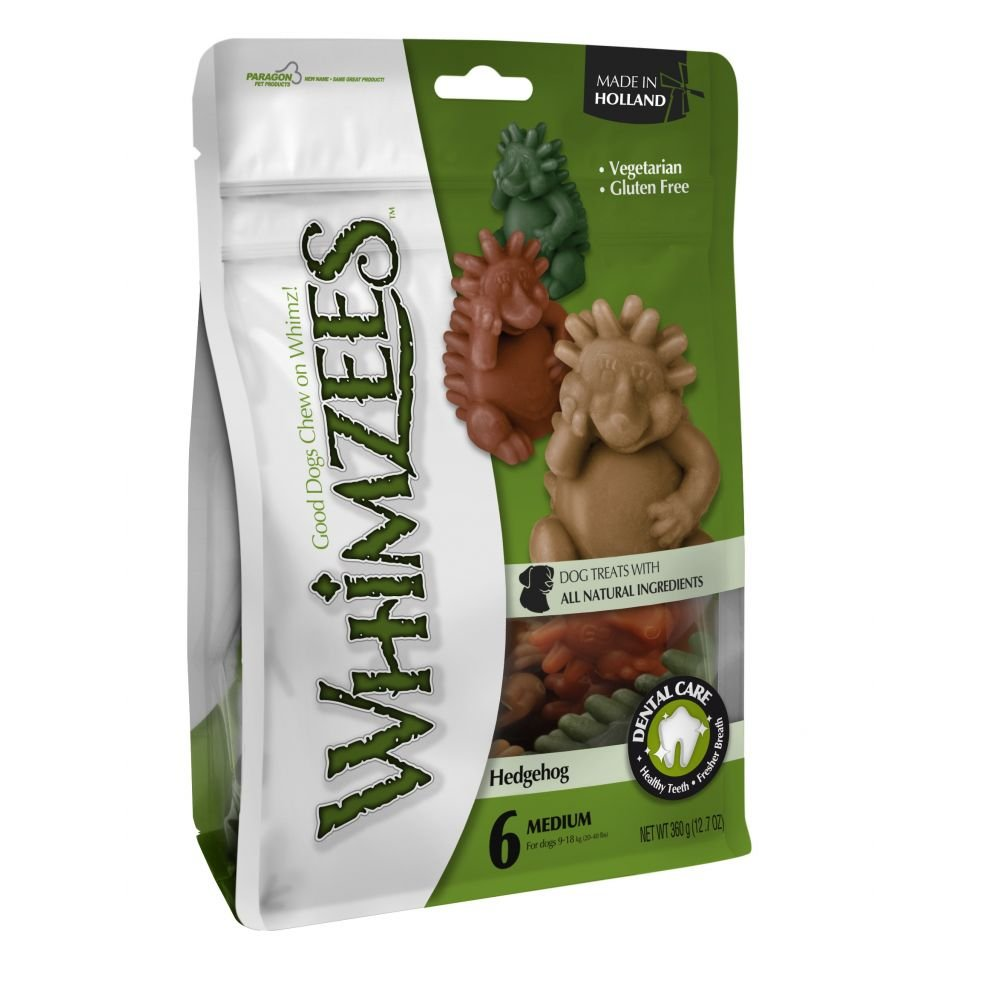 May Vary Large May Vary Large Whimzees Hedgehog Pre Pack Dog Chew (Large) (May Vary)