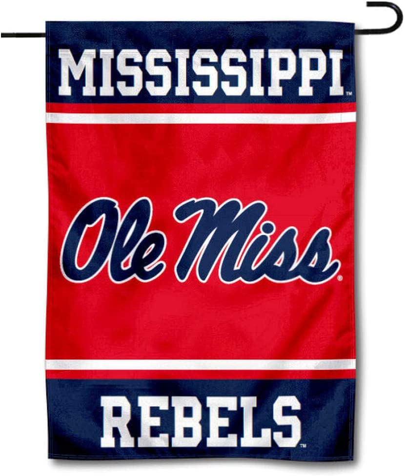 College Flags & Banners Co. University of Mississippi Garden Flag