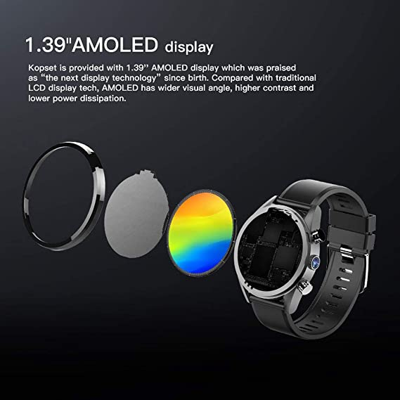 annotebestus Kospet Hope Smartwatch 3G+32G 4G-LTE, IP67 ...