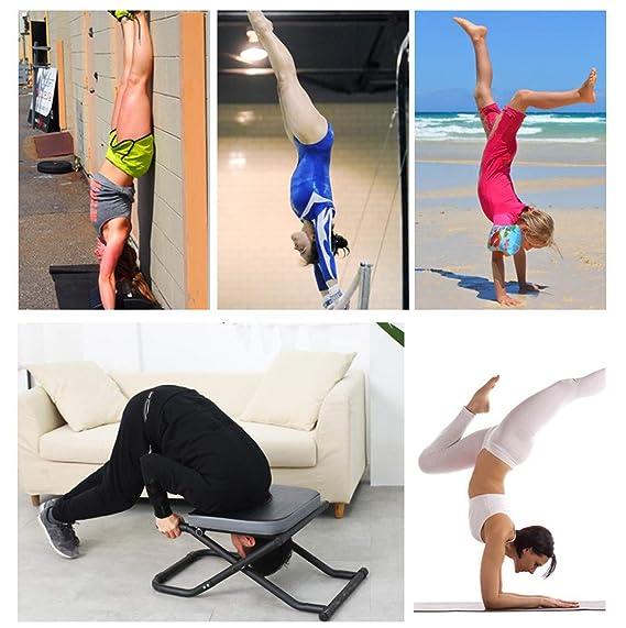 Amazon.com: Inversion Equipamiento Cabecero Banco Yoga Silla ...