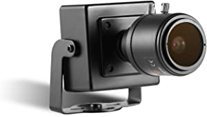 HD Zoom POE Mini IP Camera Security, Revotech H.265 3MP 2MP 1080P 2.8-12mm Manual Zoom Lens Home Camera Indoor Surveillance ONVIF P2P CCTV Cam System(I712-P Black)