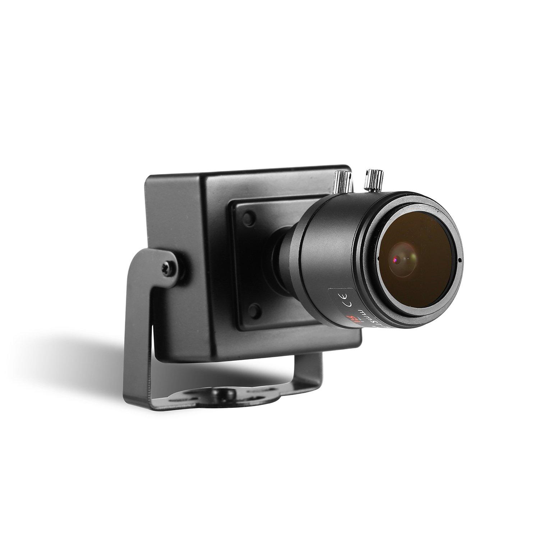 HD Mini 2.0MP CCTV POE IP network Security camera 1080P Color P2P 2.8-12mm lens