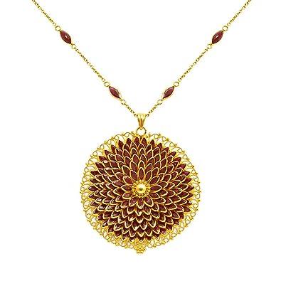 Buy joyalukkas ratna collections 22k 916 yellow gold and ruby joyalukkas ratna collections 22k 916 yellow gold and ruby pendant aloadofball Images