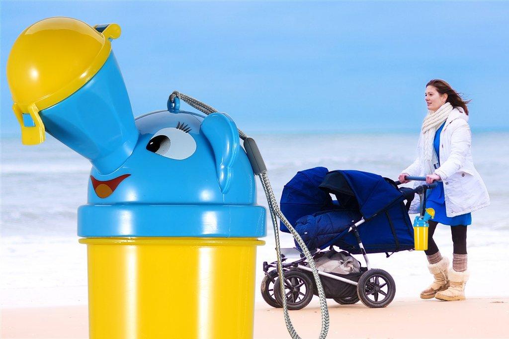 urinario de emergencia para camping ni/ño para viajes en coche y para que los ni/ños aprendan a hacer pip/í Onedone Orinal port/átil para beb/és y ni/ños