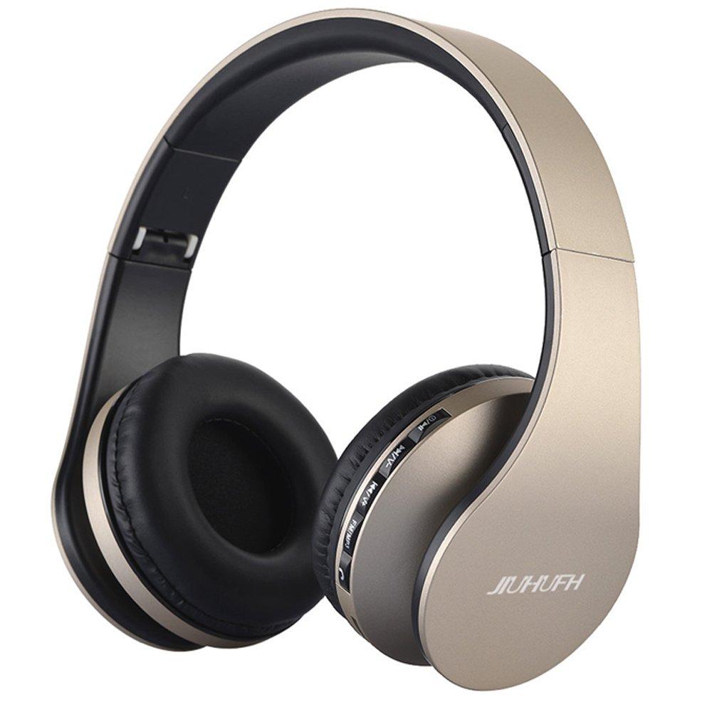 JIUHUFH Auriculares inalámbricos Bluetooth Sobre la Oreja con Auriculares para iPhone
