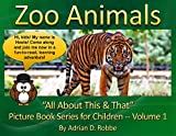 Book Cover for Zoo Animals --