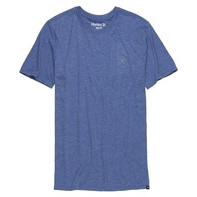Amazon Com Hurley Men S Staple Dri Blend Tee Heather Sports Blue