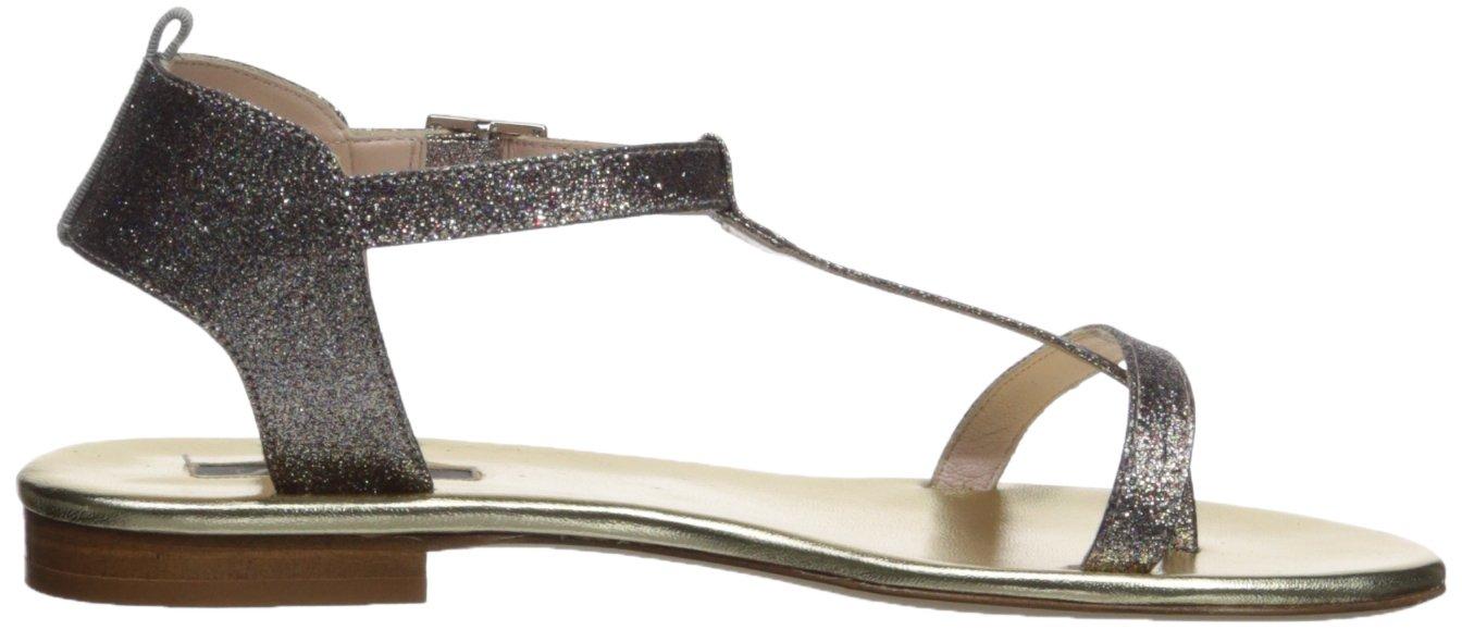SJP by Sarah Jessica Parker Women's Veronika Slide Sandal B074PBRM3L 40.5 B EU (10 US)|Tinsel Glitter