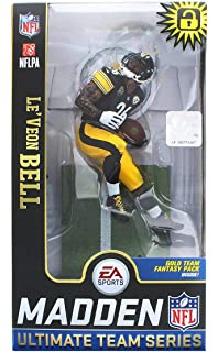 f7457f145 McFarlane Toys EA Sports Madden NFL 19 Ultimate Team Le Veon Bell  Pittsburgh Steelers