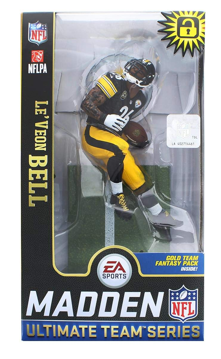 McFarlane Toys EA Sports Madden NFL 19 Ultimate Team LeVeon Bell Pittsburgh Steelers