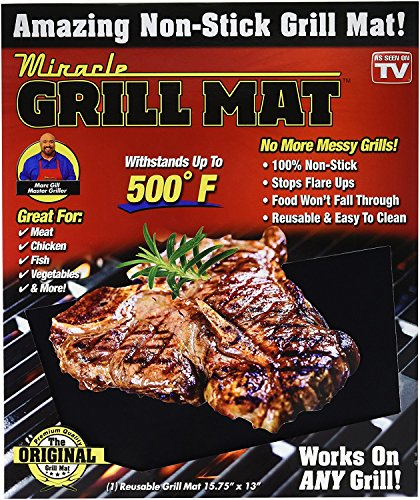 Miracle Grill Mat - 2 Pack