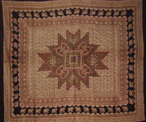 Art Jaipur - India Arts Jaipur Tapestry Cotton Bedspread 108