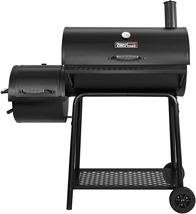 Amazon.com: Royal Gourmet CC1830F Charcoal Grill with Offset Smoker, Black: Garden & Outdoor