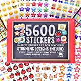 Josephine on Caffeine Teacher Stickers Kids- Bulk Teacher Supplies Value Pack 5600 Reward Stickers Classroom Supplies School Supplies Teachers