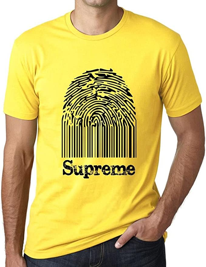 One in the City Supreme Fingerprint, Camisetas Hombre, Camiseta ...