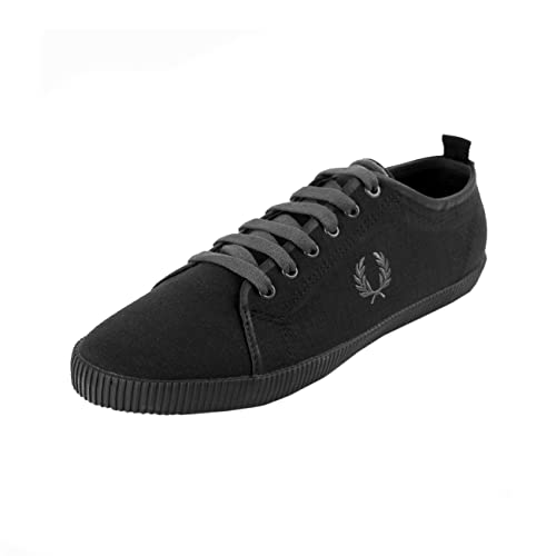 Fred Perry Kingston Shower Resistant Canvas Black 42