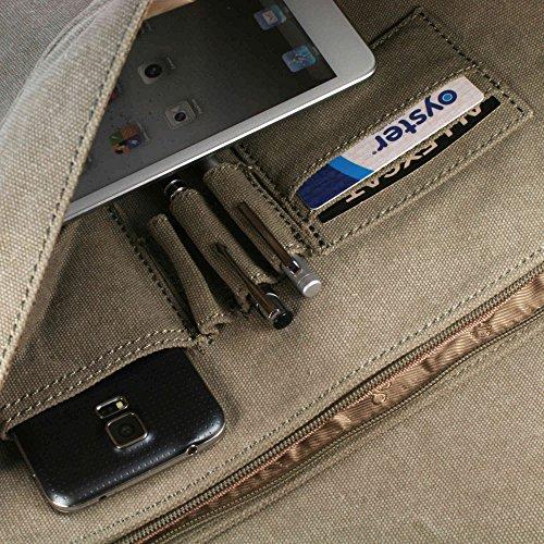 troop London Classic Messenger 38 cm Laptopfach
