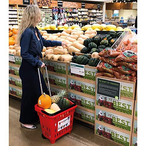 Buy rolling shopping basket
