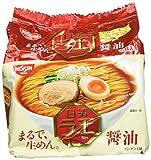 Nissin - Raoh Japanese Instant Ramen Noodles Soy Sauce Taste 17.1oz (For 5 Bowls)