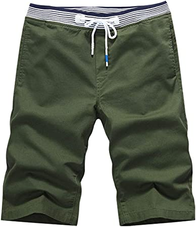 Mens Casual Cargo Sports Pants Shorts Military Army Combat Summer Solid Color