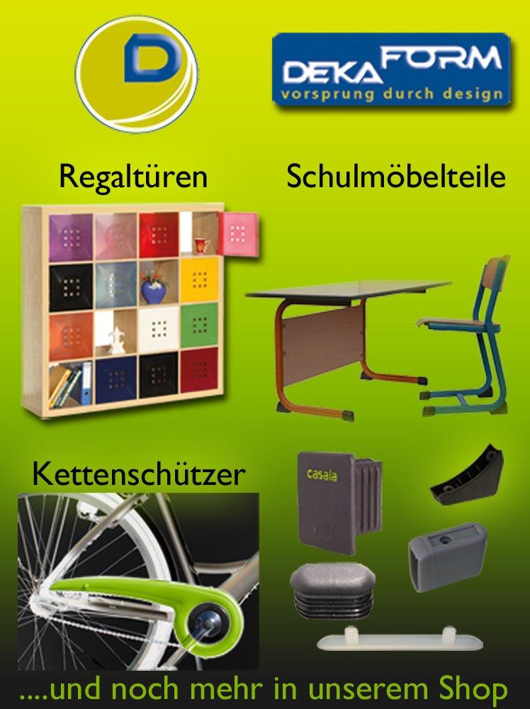 silber DEKAFORM Kettenschutz Easy Line 180-3 gek/ürzt f/ür 36//38 Z/ähne 20 Zoll