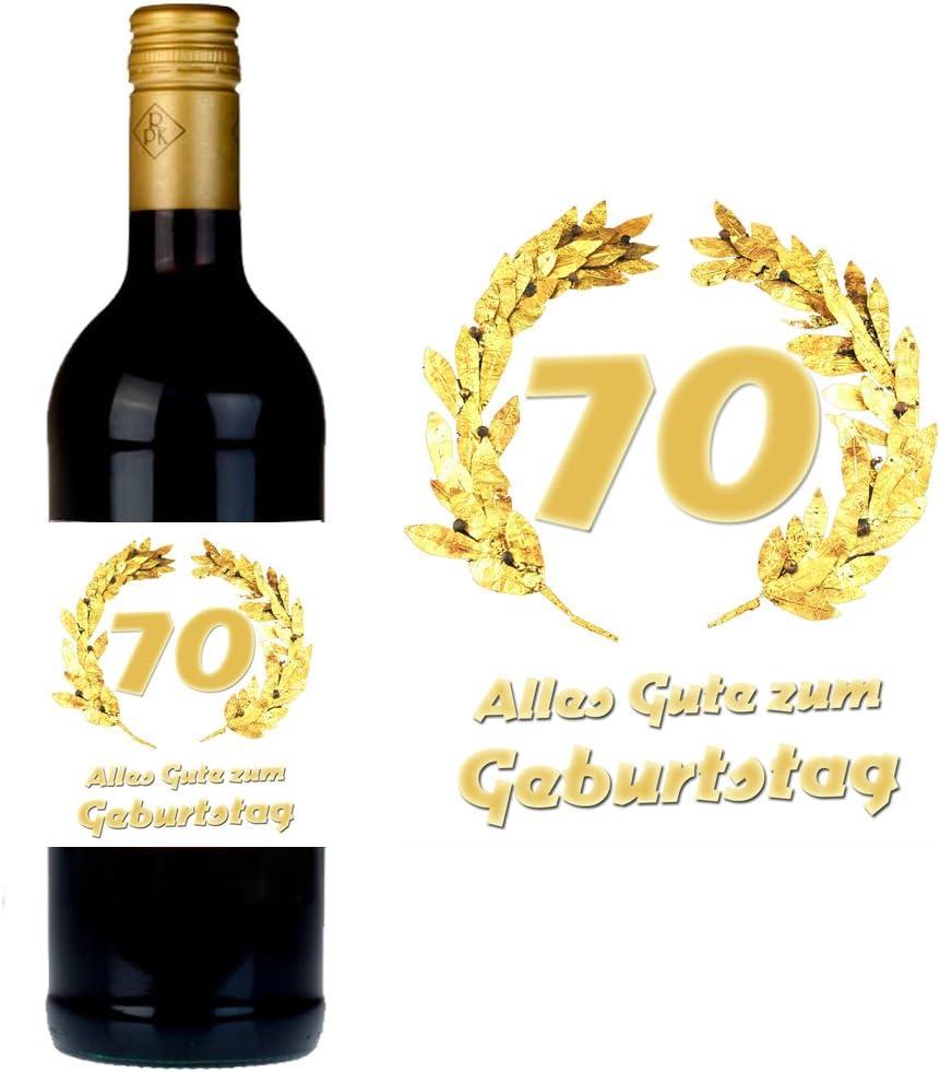 Geburtstag f/ür Wein und Sektflaschen als Geschenkidee zum 20 SHIRT-TO-GO Flaschenetikett zum 20 Geburtstag