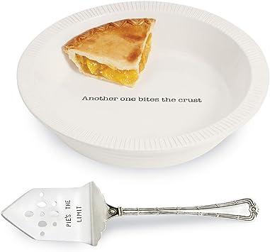 "Mud Pie E1 Home Circa Apps Pick /& Choose Wood Serving 14/"" L Dish /& Toothpick Set"