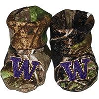 University of Washington Newborn Baby Bootie Sock